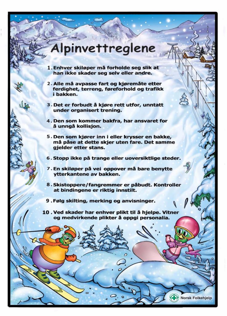 Alpinvettreglene