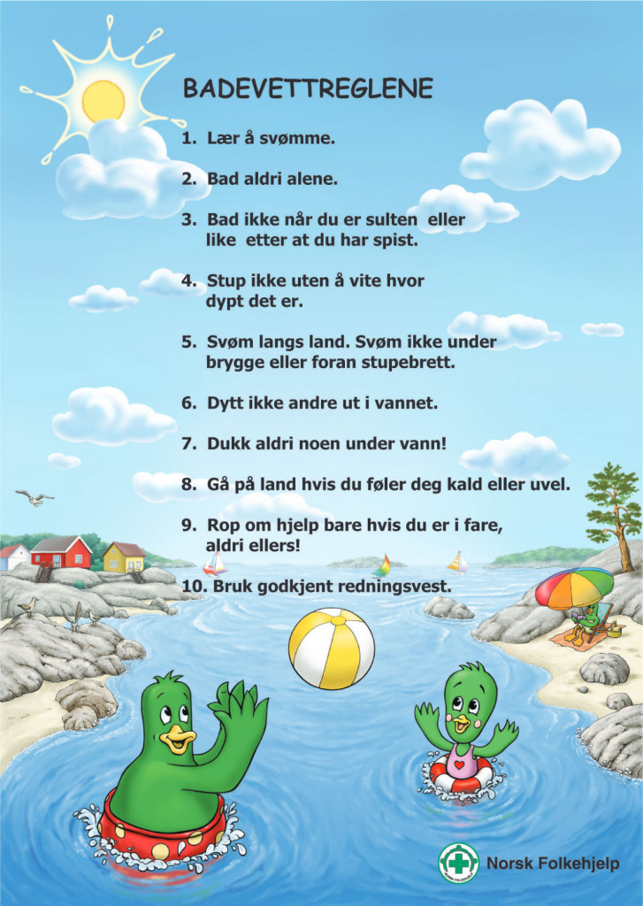 Badevettreglene